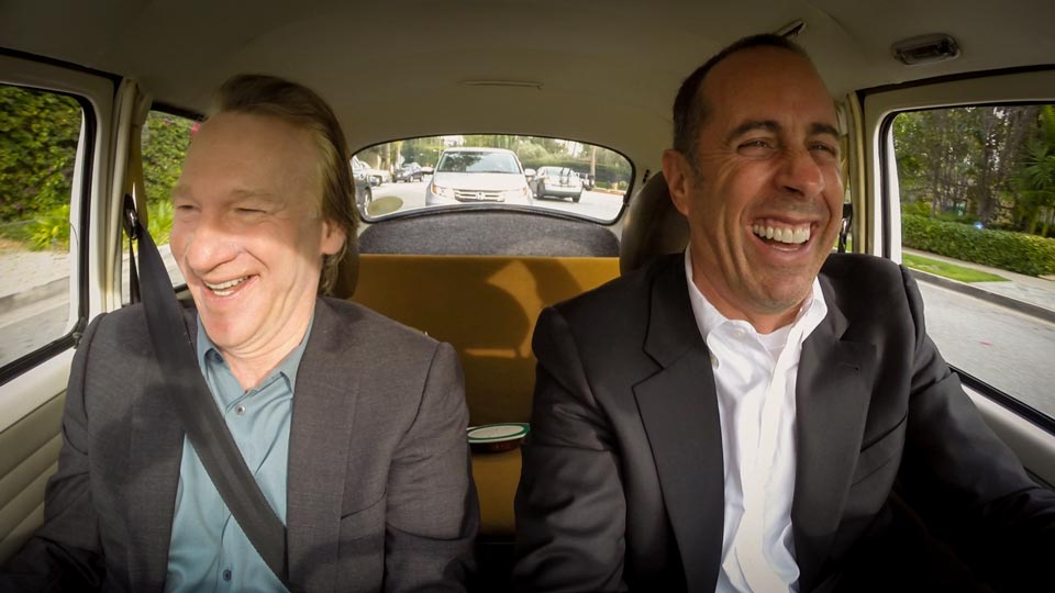 Jerry Seinfeld  &  Bill Maher on Comedians in Cars Getting Coffee