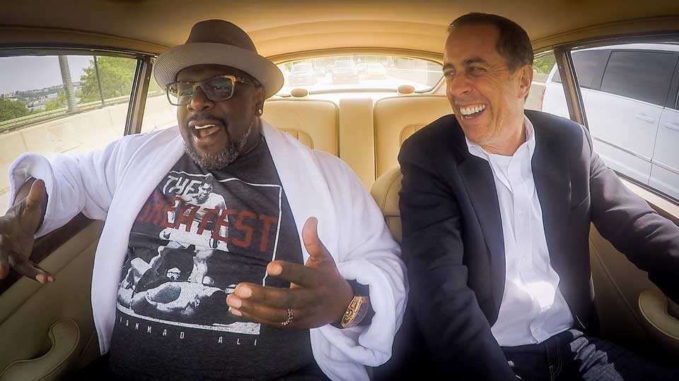 Jerry Seinfeld  &  Cedric the Entertainer on Comedians in Cars Getting Coffee