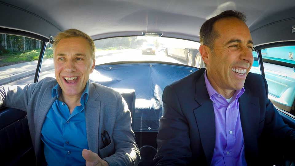 Jerry Seinfeld  &  Christoph Waltz on Comedians in Cars Getting Coffee