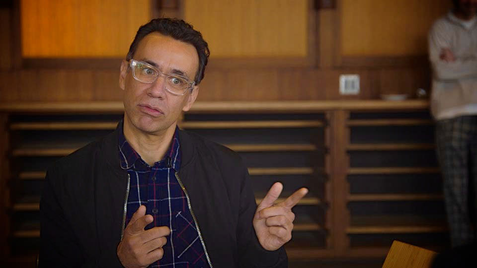 Jerry Seinfeld  &  Fred Armisen on Comedians in Cars Getting Coffee