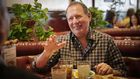 Jerry Seinfeld  &  Garry Shandling on Comedians in Cars Getting Coffee