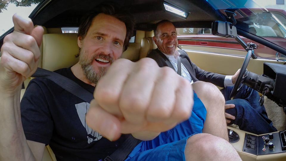 Jerry Seinfeld  &  Jim Carrey on Comedians in Cars Getting Coffee