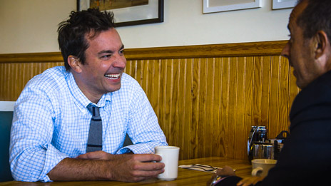 Jerry Seinfeld  &  Jimmy Fallon on Comedians in Cars Getting Coffee