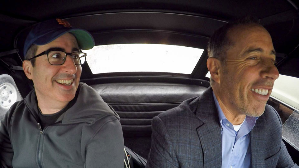 Jerry Seinfeld  &  John Oliver on Comedians in Cars Getting Coffee