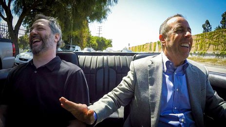 Jerry Seinfeld  &  Judd Apatow on Comedians in Cars Getting Coffee