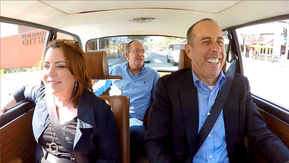 Jerry Seinfeld, Kathleen Madigan  &  Chuck Martin on Comedians in Cars Getting Coffee