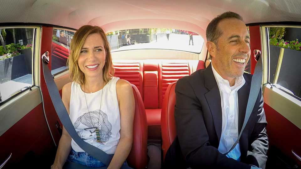 Jerry Seinfeld  &  Kristen Wiig on Comedians in Cars Getting Coffee