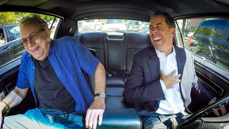 Jerry Seinfeld  &  Lewis Black on Comedians in Cars Getting Coffee