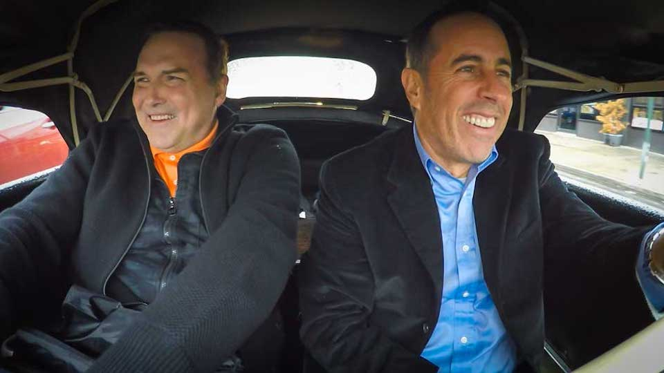 Jerry Seinfeld  &  Norm MacDonald on Comedians in Cars Getting Coffee