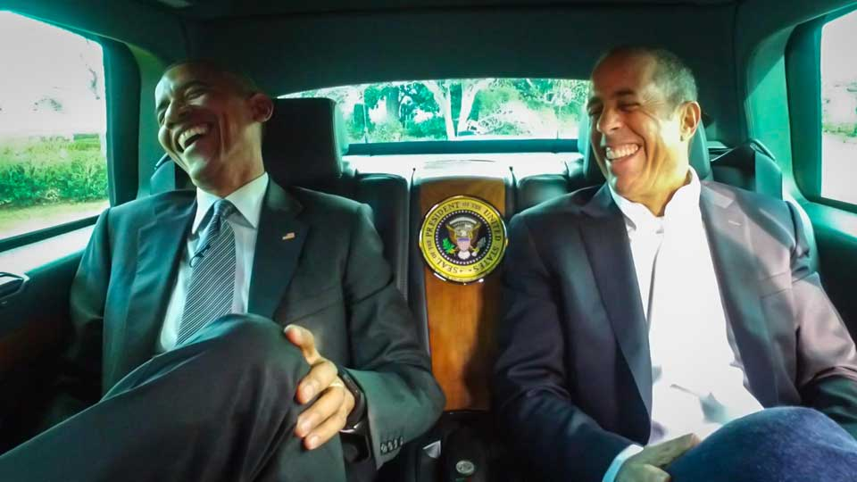 Jerry Seinfeld  &  President Barack Obama on Comedians in Cars Getting Coffee