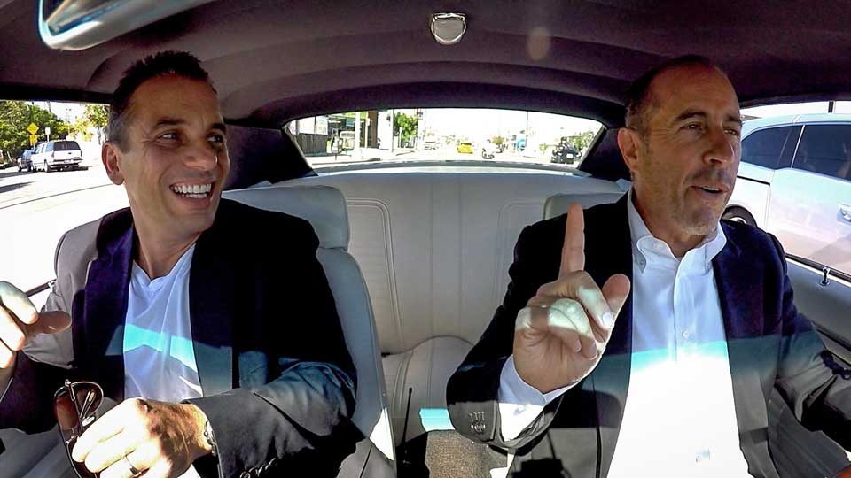 Jerry Seinfeld  &  Sebastian Maniscalco on Comedians in Cars Getting Coffee