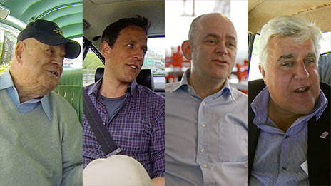 Jerry Seinfeld, George Wallace, Don Rickles, Jay Leno, Bill Burr, Seth Meyers, Brian Regan  &  Todd Barry on Comedians in Cars Getting Coffee