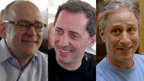 Jerry Seinfeld, Jerry Seinfeld, Gad Elmaleh, Sarah Silverman, Louis C.K., Fred Armisen, Todd Barry, Julia Louis-Dreyfus, Bill Maher, Jon Stewart, David Letterman, Miranda Sings  &  Larry David on Comedians in Cars Getting Coffee