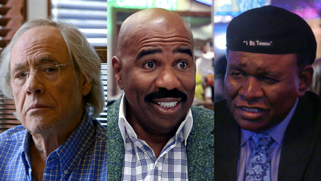 Jerry Seinfeld, Jerry Seinfeld, Steve Harvey, Robert Klein, Carl Reiner  &  George Wallace on Comedians in Cars Getting Coffee