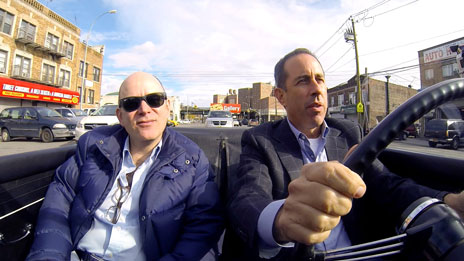 Jerry Seinfeld, Jerry Seinfeld, Gary Shandling, Todd Barry, Sebastian Maniscalco, Kevin Hart  &  Will Ferrell on Comedians in Cars Getting Coffee
