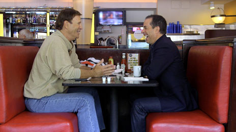 Jerry Seinfeld, Jerry Seinfeld, Miranda Sings, Sarah Silverman, Larry David, George Wallace, Bill Burr, Bob Einstein, Fred Armisen  &  Chris Rock on Comedians in Cars Getting Coffee