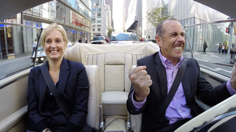 Jerry Seinfeld, Jerry Seinfeld, Ali Wentworth, Amy Schumer, Bill Maher, Chris Rock, Jimmy Fallon  &  Trevor Noah on Comedians in Cars Getting Coffee