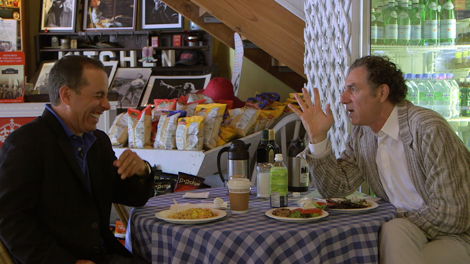 Jerry Seinfeld, Jerry Seinfeld, Mel Brooks, Louis C.K., Bob Einstein, Gad Elmaleh, Jimmy Fallon, Joel Hodgson, Jay Leno, Carl Reiner  &  Michael Richards on Comedians in Cars Getting Coffee