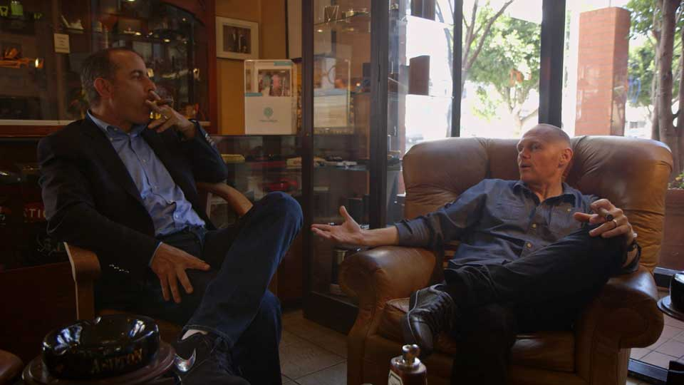 Jerry Seinfeld, Jerry Seinfeld, Jay Leno, Brian Regan, Garry Shandling, Sarah Silverman, Sebastian Maniscalco, Chris Rock  &  Bill Burr on Comedians in Cars Getting Coffee