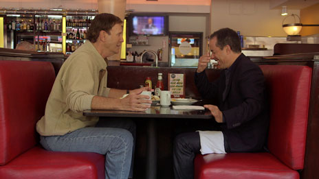 Jerry Seinfeld, Jerry Seinfeld, Bob Einstein, Steve Martin, Seth Meyers, Chris Rock  &  Sarah Silverman on Comedians in Cars Getting Coffee