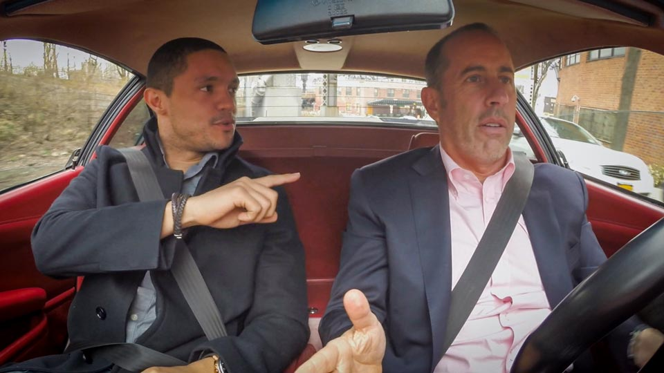 Jerry Seinfeld  &  Trevor Noah on Comedians in Cars Getting Coffee