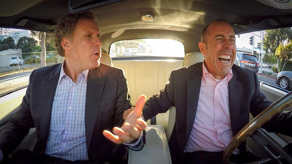 Jerry Seinfeld  &  Will Ferrell on Comedians in Cars Getting Coffee